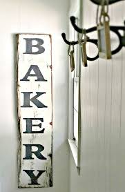 best 25 bakery sign ideas