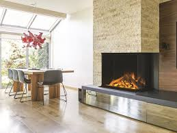 double sided electric built in glass fireplace vista gf2 800 by british fires