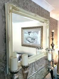 large decorative wall mirror wall mirrors shabby chic large decorative mirror extra cream splendid