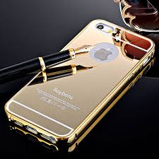 iphone 5s gold case for girls. for iphone 5 5g 5s case, roybens luxury metal air aluminum bumper detachable + mirror hard back case 2 in 1 cover ultra-thin frame apple iphone gold girls g