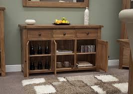 Living Room Furniture Oak Tilson Solid Rustic Oak Dining Living Room Furniture Large Storage