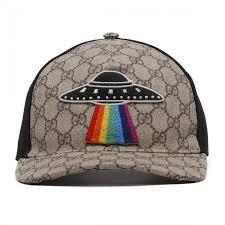 gucci ufo. baseball logo w/ tiger embroidery gucci ufo s