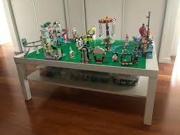 lego table and storage ideas be a fun mum