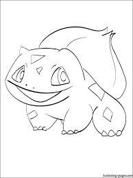 Small Picture Pokemon coloring page Bulbasaur Coloring pages