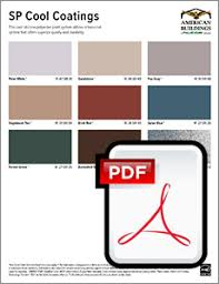 Nucor Building Systems Color Chart Panel Colors American Buildings