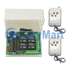 4 channel toggle mode remote control 4 led flood lamps carymart remote control