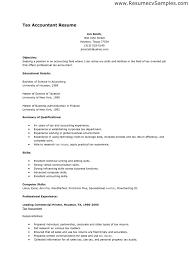 Tax Accountant Resume Berathen Com