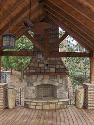time lapse outdoor stone fireplace construction in atlanta ga you