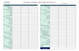 Monthly Bills Template Spreadsheet Income Expense Home Budget