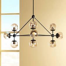 black chandelier lighting. Possini Euro Gable 44\ Black Chandelier Lighting