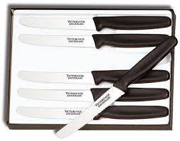 victorinox carving knife set holz