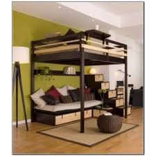 full size bunk bed with desk 1 for adults z5 for