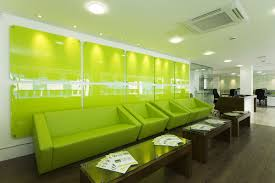 office colour design. Working Area Fitouts, London Office Colour Design