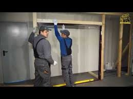 side hinged garage doorsSide Hinged Garage Door installation  YouTube