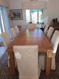 Solid Oak Marks  Spencer Sonoma Extendable Dining Table Seats - Marks and spencer dining room chairs