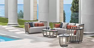 Image Front Garden Ethimo The Outdoor Furniture With Mediterranean Style Magazine Belles Demeures Ethimo The Outdoor Furniture With Mediterranean Style