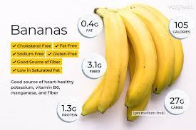 Banana Nutrition Calories Carbs And Health Benefits