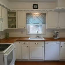 white single bowl kitchen sink. Contemporary Kitchen Design With White Cabinet Wood Counter Tops, Single Bowl Sink