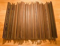 features furniture grade hardwood sound diffusing