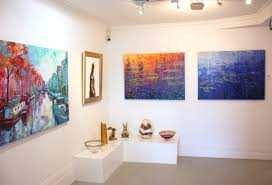 a selection of works at black door gallery including mike ponder and richard ponder