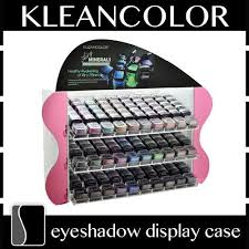 Eyeshadow Display Stand Enchanting KleanColor Airy Minerals Eyeshadow Display Case Counter Rack Stand
