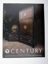 images hollywood regency pinterest furniture: century furniture chin hua collection armoire  print ad advertisement