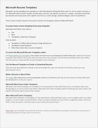 Free Examples Of Simple Resumes Resume Resume Templates