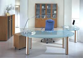 home office glass desks. Glass Office Desks Modern Curve Frosted Desk And Computer Also Wooden Rolling Cabinet . Home F