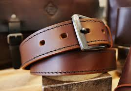 unique custom made leather belts