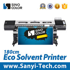 China High Quality Dx7 Eco Solvent Printer Optinal 1 8 Or 3 2 M