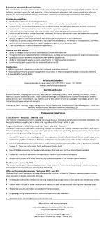 Chameleon Resumes Guidelines For The Thesis University Of Virginia Resume Preferred 4