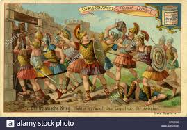 illiad stock photos illiad stock images alamy the trojan wars hector breaks through the main gate of the achaeans liebig company