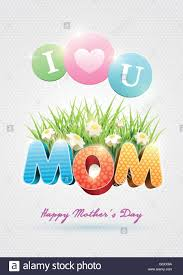 Happy Mothers Day Poster Design Mothers Day Poster Design Template Elements Are Layered