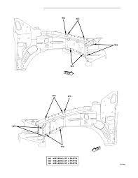 Fig 152 front fender shield beam cowl side panel