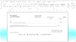 Office Check Template Template Checkbook Office Check