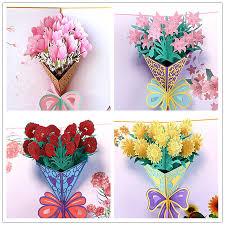Teachers Birthday Card Usd 6 18 Send Teacher Greeting Card 3d Three Dimensional