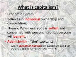 bellringer pick up the paper by the door review for your what is capitalism economic system believes in individual ownership and competition