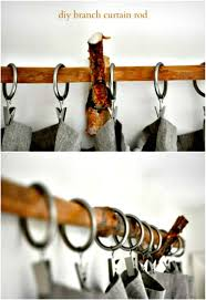 30 diy curtain rods and hooks to