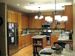 replace fluorescent light fixture in kitchen remove fluorescent