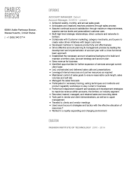 Account Manager Resume Sample Account Manager Resume Sample Velvet Jobs 17