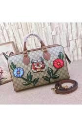 gucci 409527. gucci gg supreme canvas top handle bag with embroideries 409527 vs06699