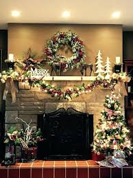 Christmas Decoration Design Decorating Fireplace Mantels For Christmas 82