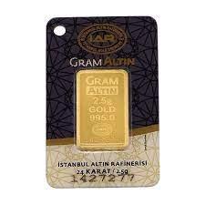 2.5 gr 24 Ayar Gram Külçe Altın Fiyatları