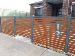 horizontal wood and metal fence. Interesting And Horizontal Cedar Fence With Metal Posts Also Black Design Ideas Throughout  Dimensions 1280 X 960 Wood And N