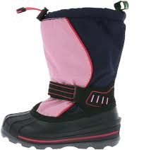 Navy 4 Schuh Winterstiefel 4 Kinder Snowcoast Sale Schnee