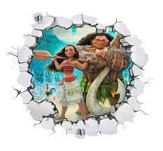 moana wall decal 3d art stickers vinyl