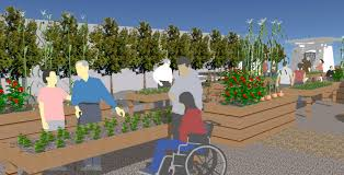Small Picture Long Beachs First ADA Accessible Garden Breaks Ground Volunteers