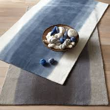 navy blue and white rug from westelem