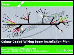 triumph 500 650 lucas wiring harness 1969 1970 pn 54955256 54955256 04 genuine lucas wiring harness 1969 70 photo 5495525601genuinelucaswiringharnesst1201969 70 zpsae5997ba jpg