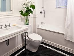 black and white bathroom border tiles relaxing white accents for wall wall iron water tap beautiful